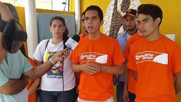 Eduardo Roque, estudiante detenido   Foto: El Nacional
