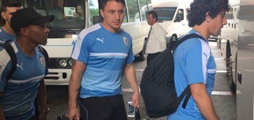Situación aérea obligó a selección uruguaya a duro trayecto hasta San Cristóbal | Foto: Cortesía