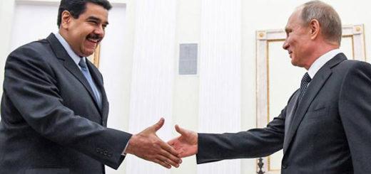 Presidente Nicolás Maduro junto a su homológo ruso, Vladímir Putin | Foto: Cortesía