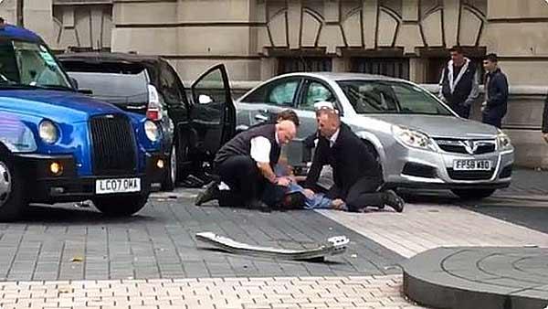 Atropello masivo en Londres   Foto: Captura de video
