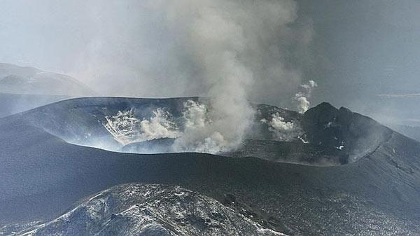 Monte Shinmoe, uno de los 50 volcanes activos bajo observación