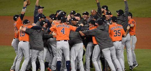 ¡Por primera vez en la historia! Astros de Houston campeones de la Serie Mundial | Foto: AFP