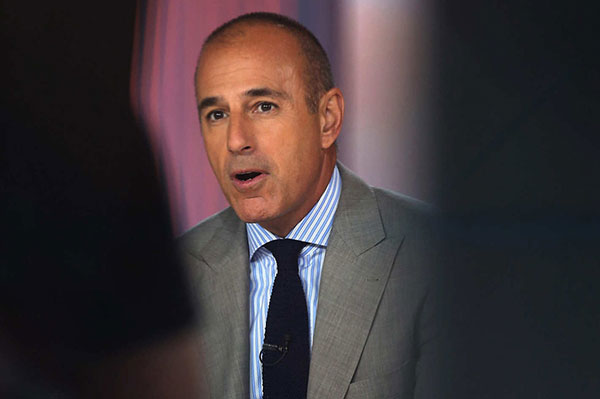 Matt Lauer | Foto: Getty Images