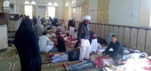Al menos 54 muertos en un ataque terrorista en mezquita en el Sinaí egipcio | Foto: Cortesía