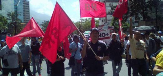 Bandera Roja no irá a elecciones municipales convocadas por la ANC | Foto: @Bandera_roja