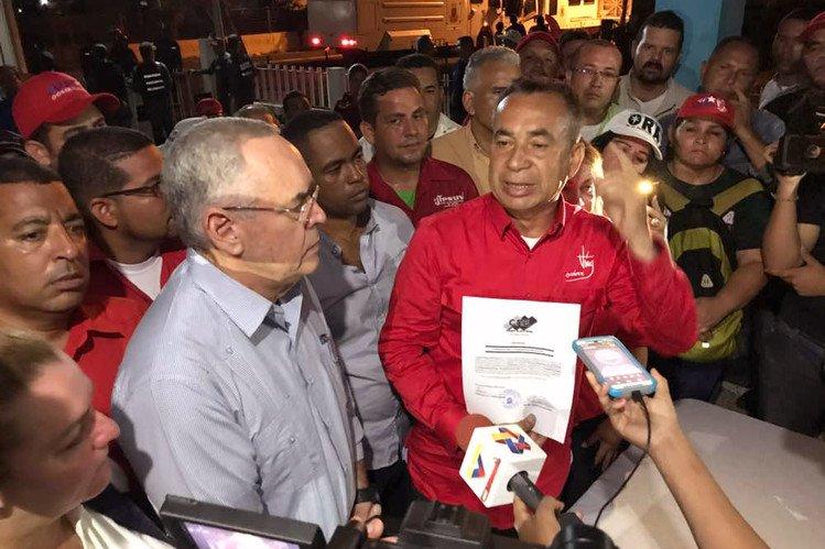 Juramentan a justo Noguera como nuevo gobernador de Bolívar en una ceremonia nocturna |Foto cortesía