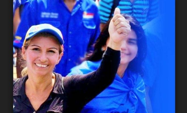 Candidato de UNT, Xiomara Erigoyen  Foto cortesía