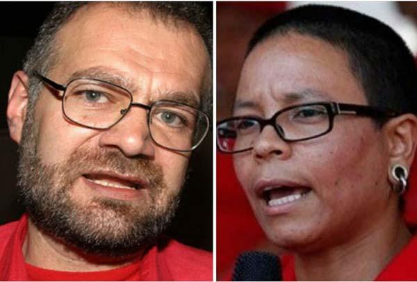 Eduardo Samán y Érika Faría se enfrentarán en las municipales |Composición: La Patilla