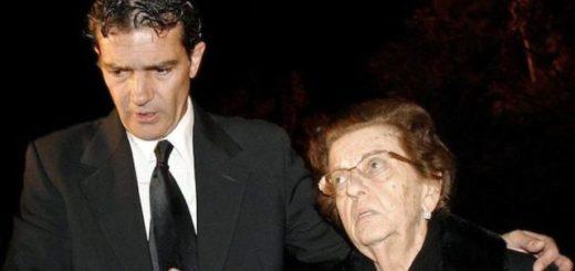 Antonio Banderas junto a su madre |Foto cortesía