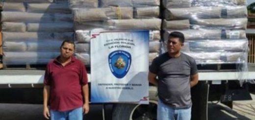 Bachaqueros detenidos  Foto cortesía