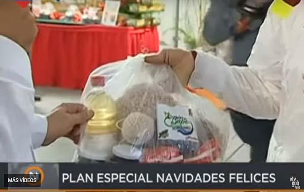 Productos de la bolsa navideña de los Clap |Captura de video