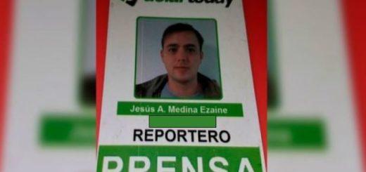 Jesús Medina, periodista corresponsal de DolarToday |Foto cortesía