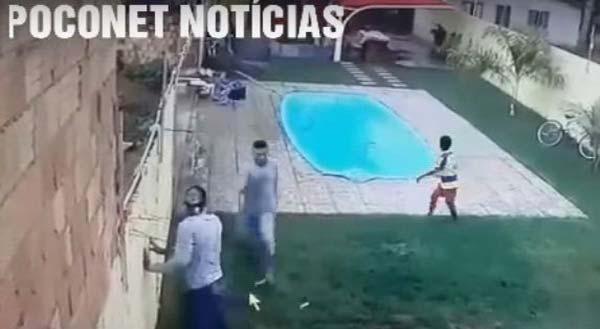 El sujeto intentó robar y terminó baleado |Captura de video