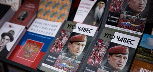 Chávez: la estrella de la Feria Internacional del Libro en Venezuela |Foto: EFE