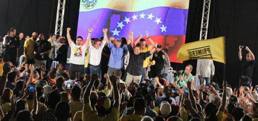 ¡Alianza! VP, PJ y la Causa R se unirían para buscar un candidato presidencial