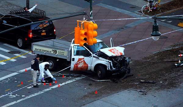 Ataque terrorista en Nueva York | Foto: AFP