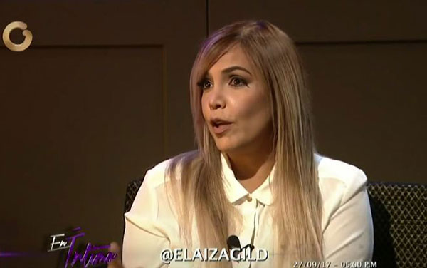 Elaiza Gil | Captura de video