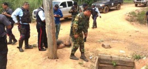 Nueve muertos deja enfrentamiento con militares en El Callao | Foto: Twitter