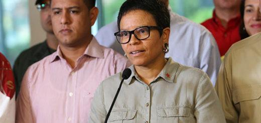 Érika Farías | Foto: @DPresidencia