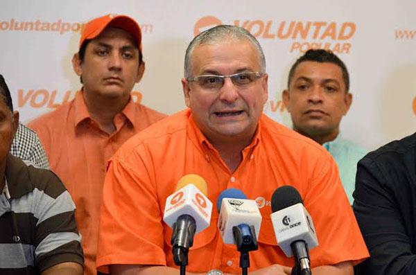 VP Zulia expulsa a Gustavo Fernández por postularse a las elecciones municipales   Foto: Archivo
