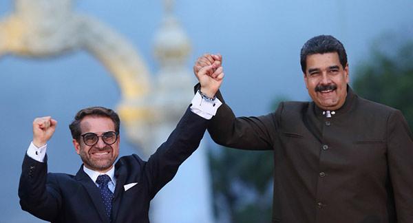 Rafael Lacava y Nicolás Maduro | Foto: AVN