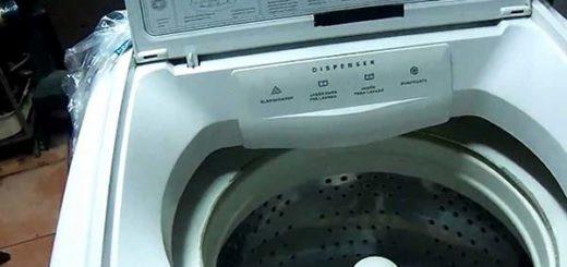 El precio de una lavadora  Foto referencial