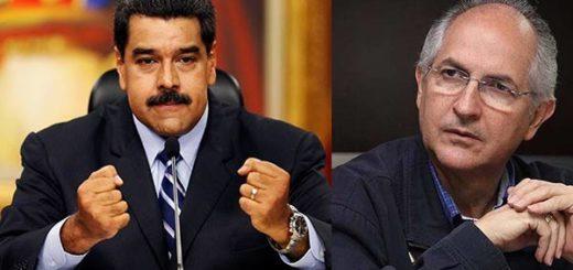 Nicolás Maduro/Antonio Ledezma |Fotomontaje: Notitotal