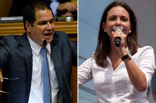 Florido critica comunicado de Vente Venezuela y señala a María Corina Machado   Composición