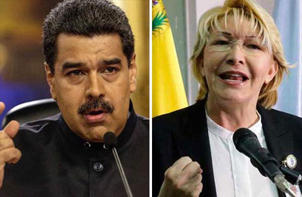 Nicolás Maduro / Luisa Ortega Díaz | Composición