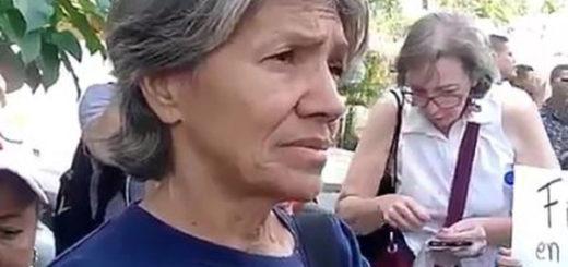 María Zapata viajó a Caracas a pedir ayuda para su hija, Maribel | Captura de video