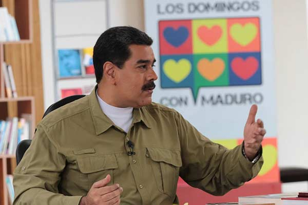 Presidente de Venezuela, Nicolás Maduro |Foto: Prensa presidencial