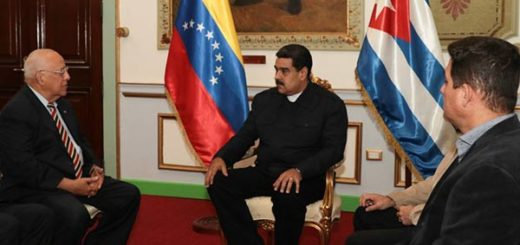 Nicolás Maduro y vicepresidente de Cuba |Foto: Prensa presidencial