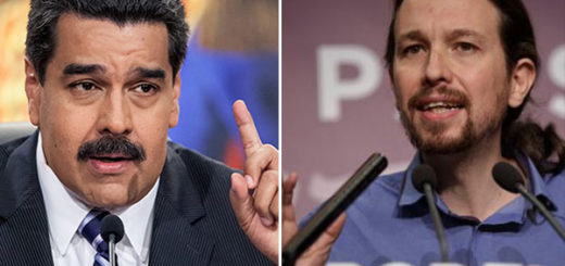 Maduro ha asegurado no haber conocido personalmente al secretario general de Podemos, Pablo Iglesias   Composición
