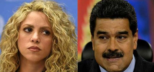Presidente Nicolás Maduro quiere traer a Shakira a Venezuela |Fotomontaje: Notitotal