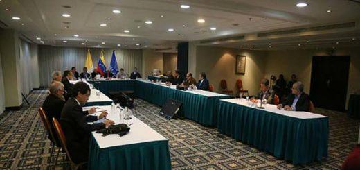 Mesa de diálogo MUD-Gobierno |Foto archivo