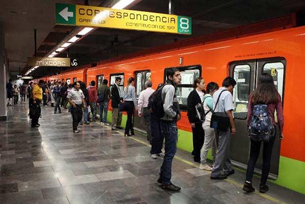 Metro en México  Foto cortesía