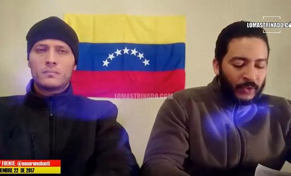 Reaparece Óscar Perez con un mensaje de la resistencia   Captura de video