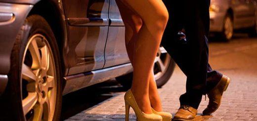 Prostitutas en el país  Foto referencial