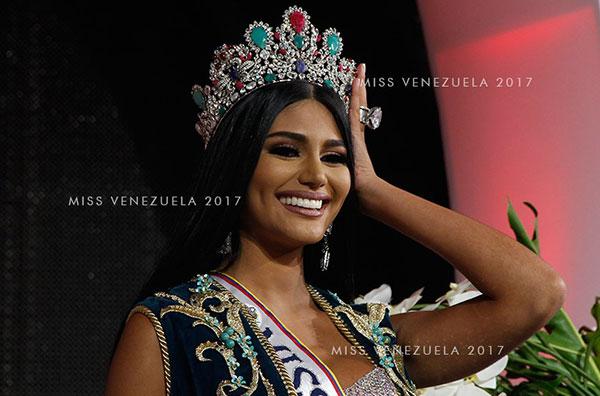 Sthefanie Gutiérrez, elegida la noche del jueves como Miss Venezuela 2017 | Foto: Miss Venezuela