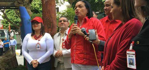Maribel Parra, Vicepresidenta de PDVSA | Foto: @PDVSA