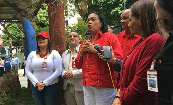 Maribel Parra, Vicepresidenta de PDVSA   Foto: @PDVSA