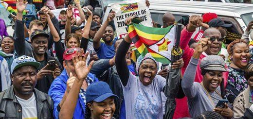 Pueblo de Zimbabue |Foto AFP