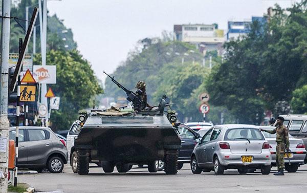 """La UE llama a una """"solución pacífica"""" a la crisis en Zimbabue   Foto: Agencias"""