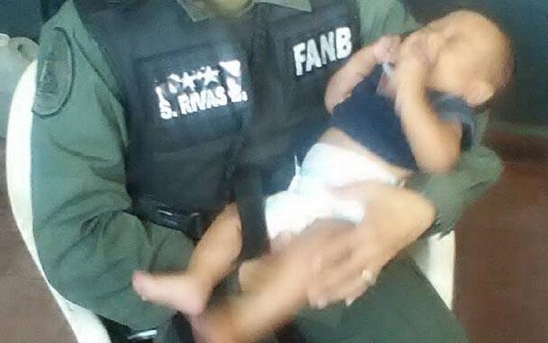 Bebé abandonado en Cojedes | Foto: El Pitazo