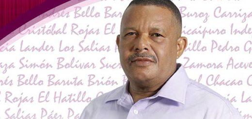 Ramón Hidalgo, candidato del Psuv a la alcaldía Andrés Bello | Foto: Archivo
