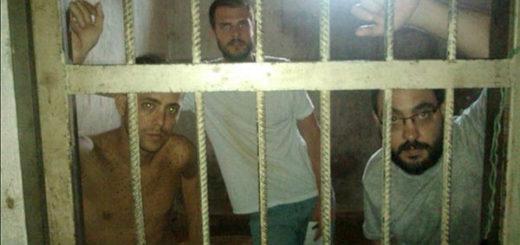 Periodistas detenidos en Tocorón | Foto: Archivo
