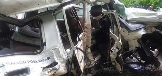 Accidente deja 6 PNB muertos | Foto: El Nacional