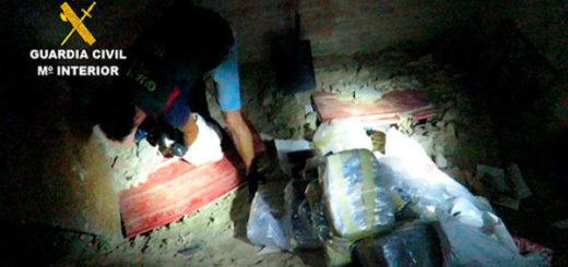 Incautan varias toneladas de cocaína en España y Marruecos de organización asentada en Venezuela | Foto: Guardia Civil de España