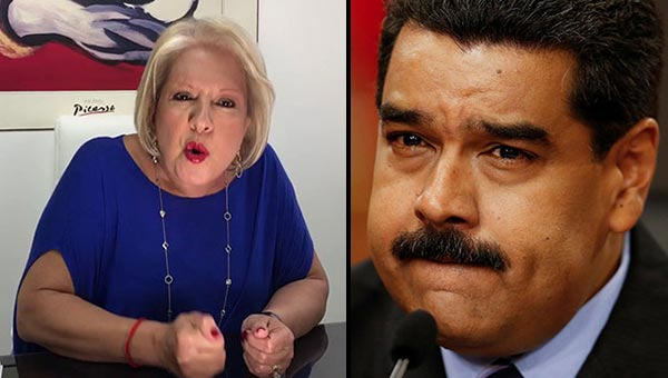 Doctora Nancy y Nicolás Maduro | Composición Notitotal