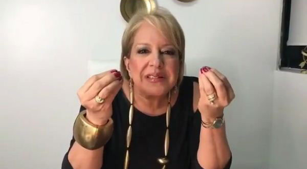Doctora Nancy Álvarez, conductora del programa ¿Quién tiene la razón? | Captura de video